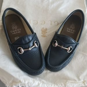 AUTHENTIC GUCCI LOAFER (TODDLER BOY) SIZE 10